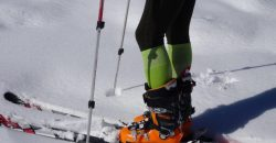 Faire du ski avec une bonne chaussure de ski