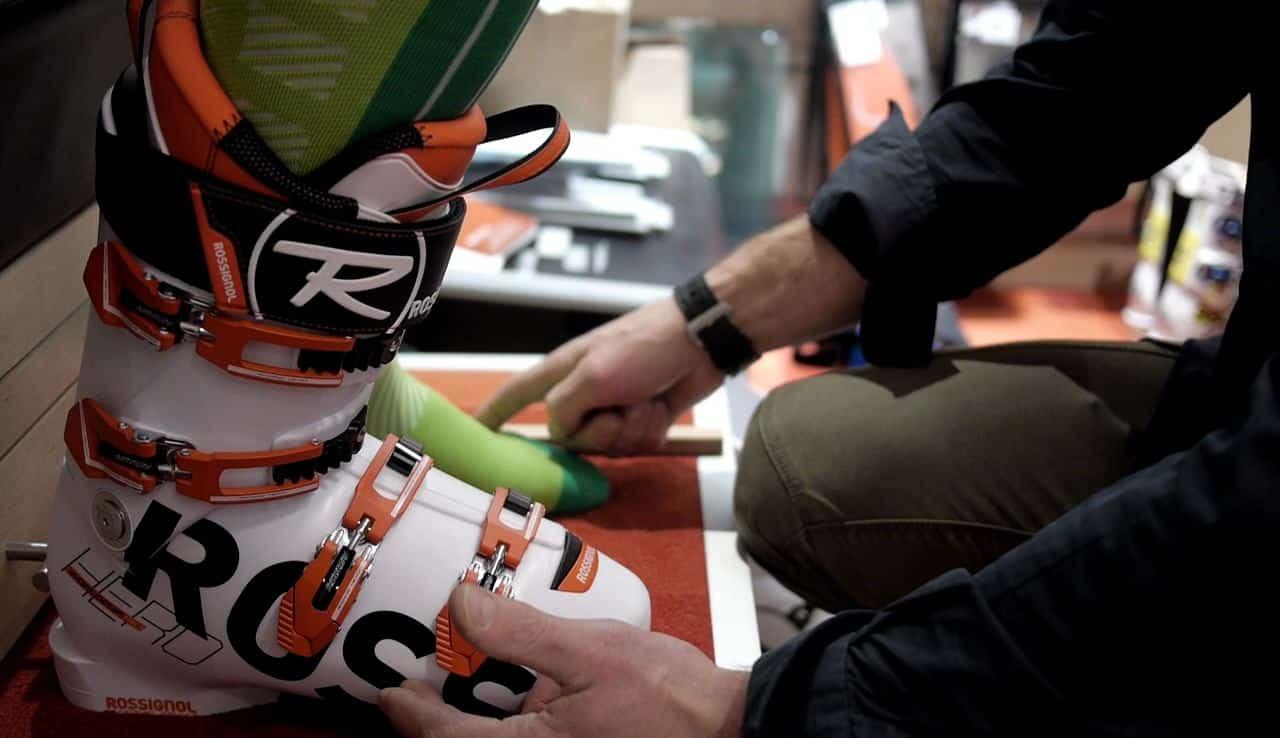 Essayer sa chaussure de ski avant achat